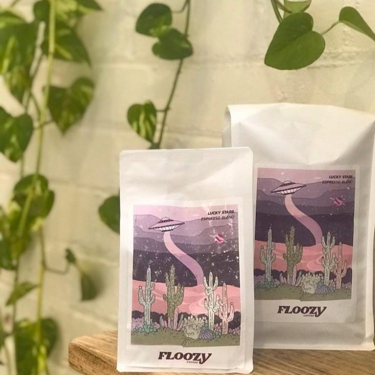 lucky stars floozy milk blend coffee beans australia